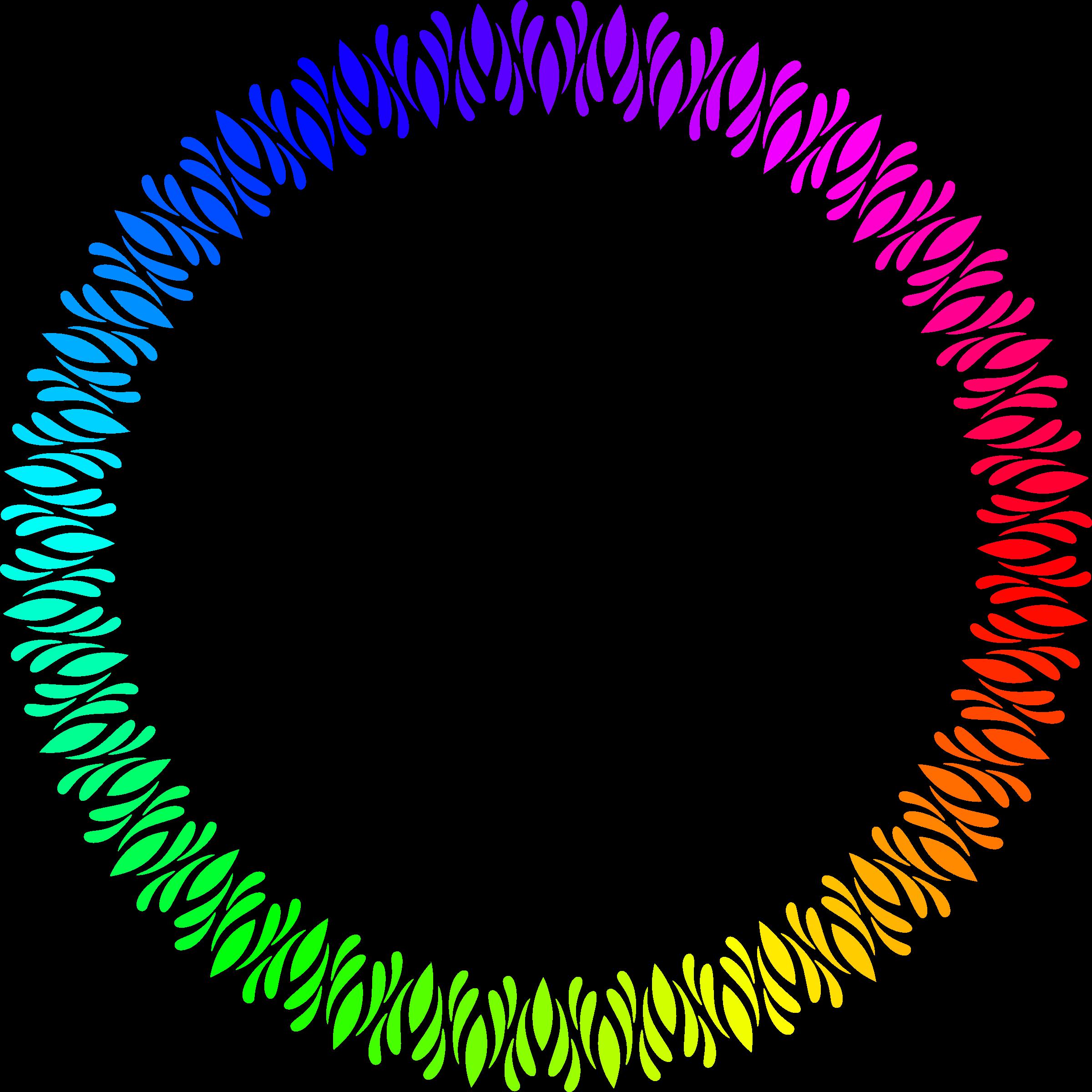 Clipart colour big image. Circular frame png