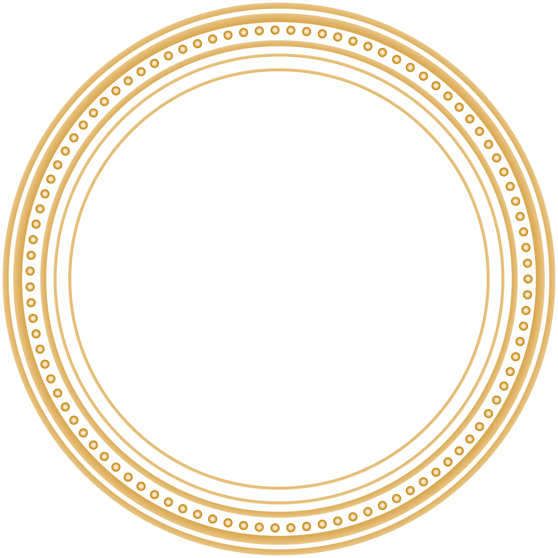 Circle frame png. Round clip art image