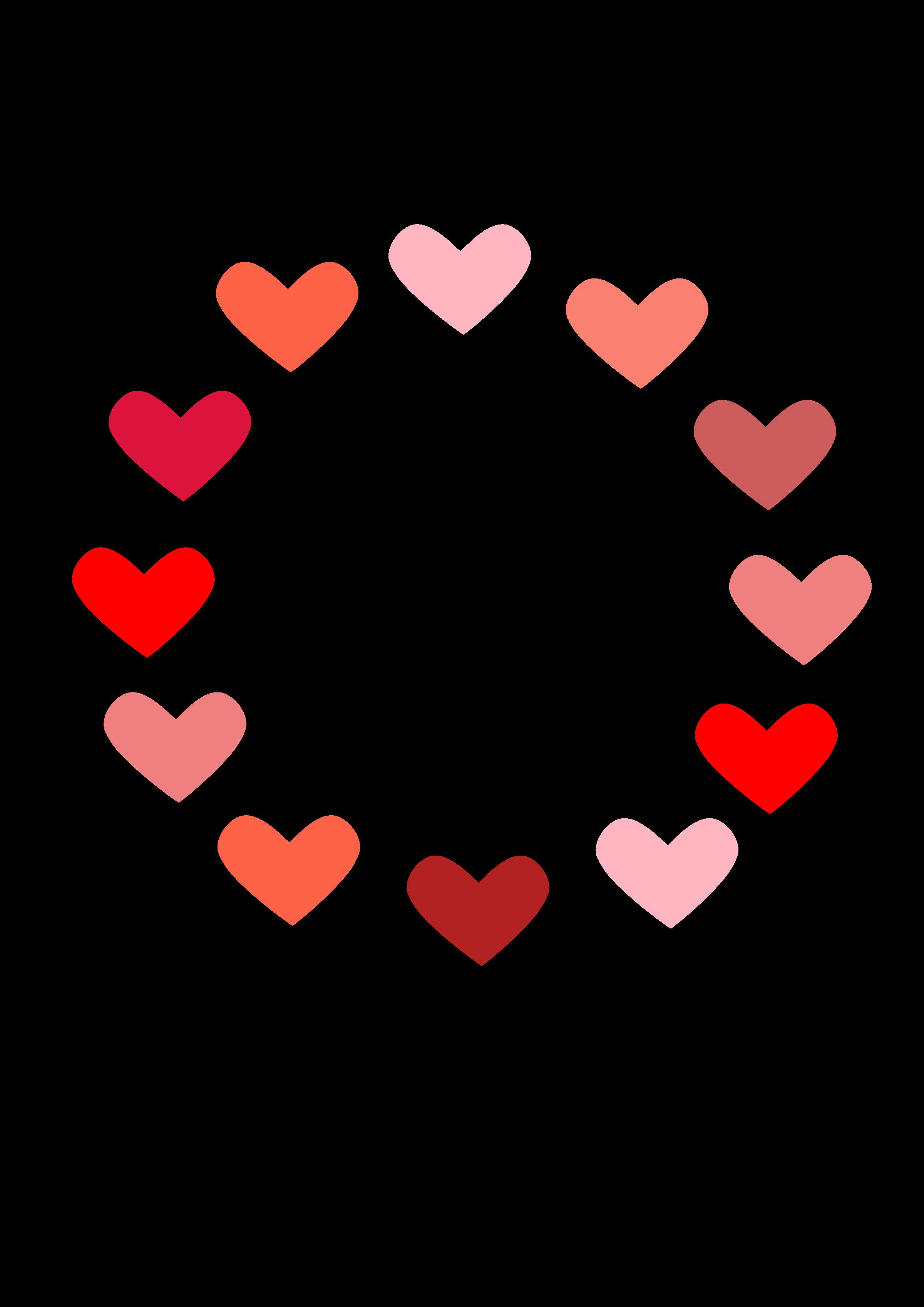 Of love big image. Circle clipart pink