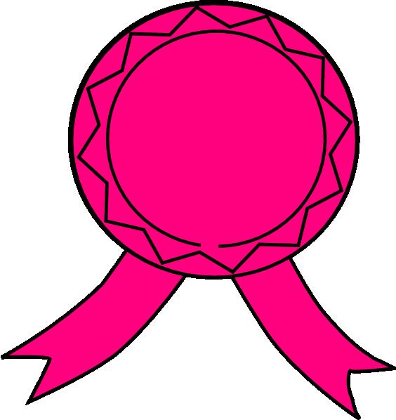 Circle clipart pink. Ribbon clip art at
