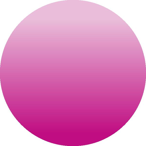 Circle clipart pink. Transparent