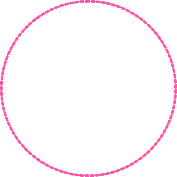 Circle clipart pink. Clip art at clker