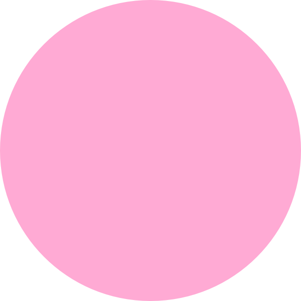 Clip art at clker. Circle clipart pink
