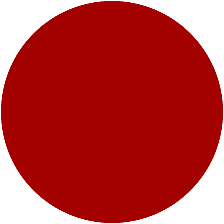 Circle clipart plain. File disc red dark