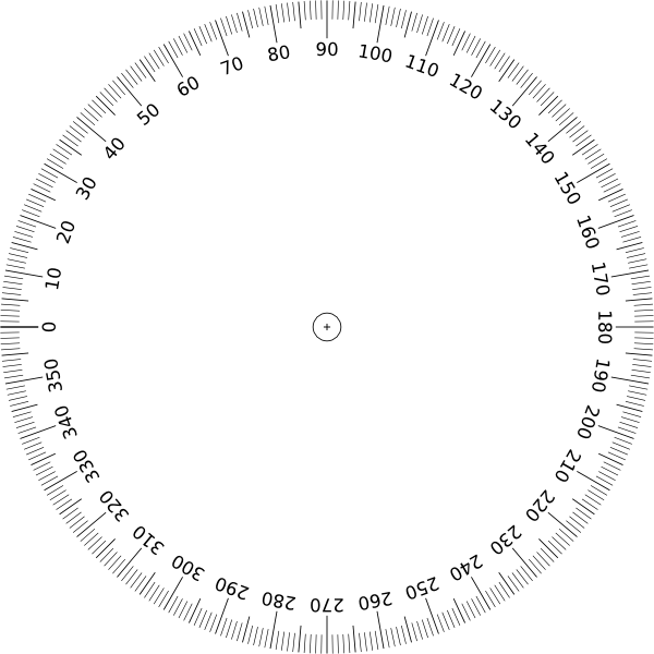 Geometry clipart math protractor.  degrees angle clip