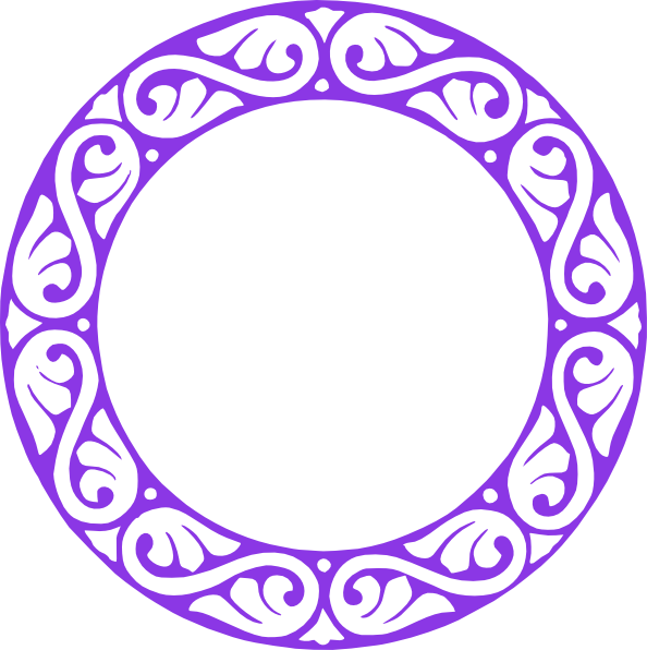 Circle clipart purple. P clip art at