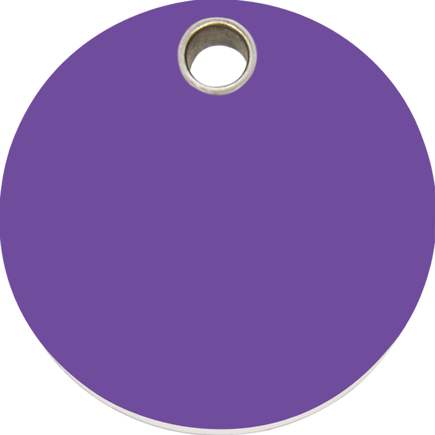 Circle clipart purple. Red dingo plastic tag