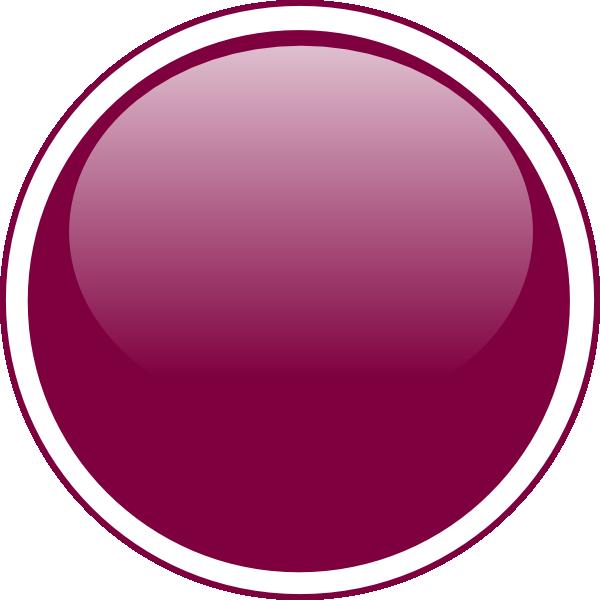 Circle clipart purple. Glossy button clip art