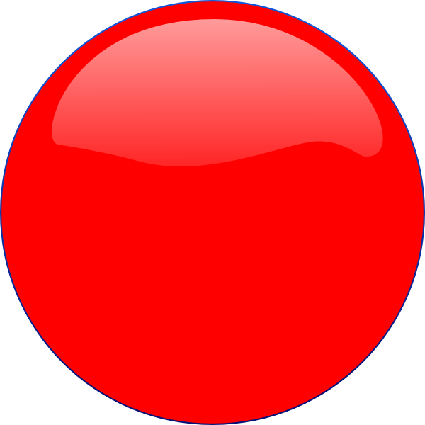 Circle clipart red. Icon clip art at