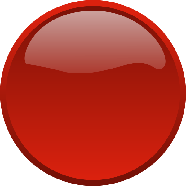 Circle clipart red. No background clip art