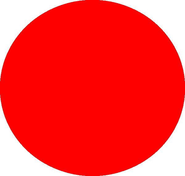 Big Red Circle Clip Art at Clker