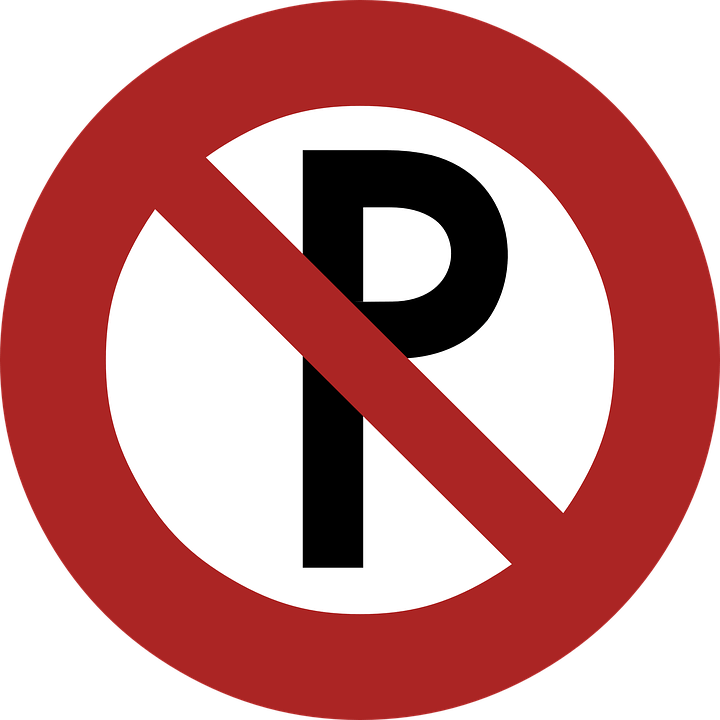 Circle clipart road. No parking sign transparent