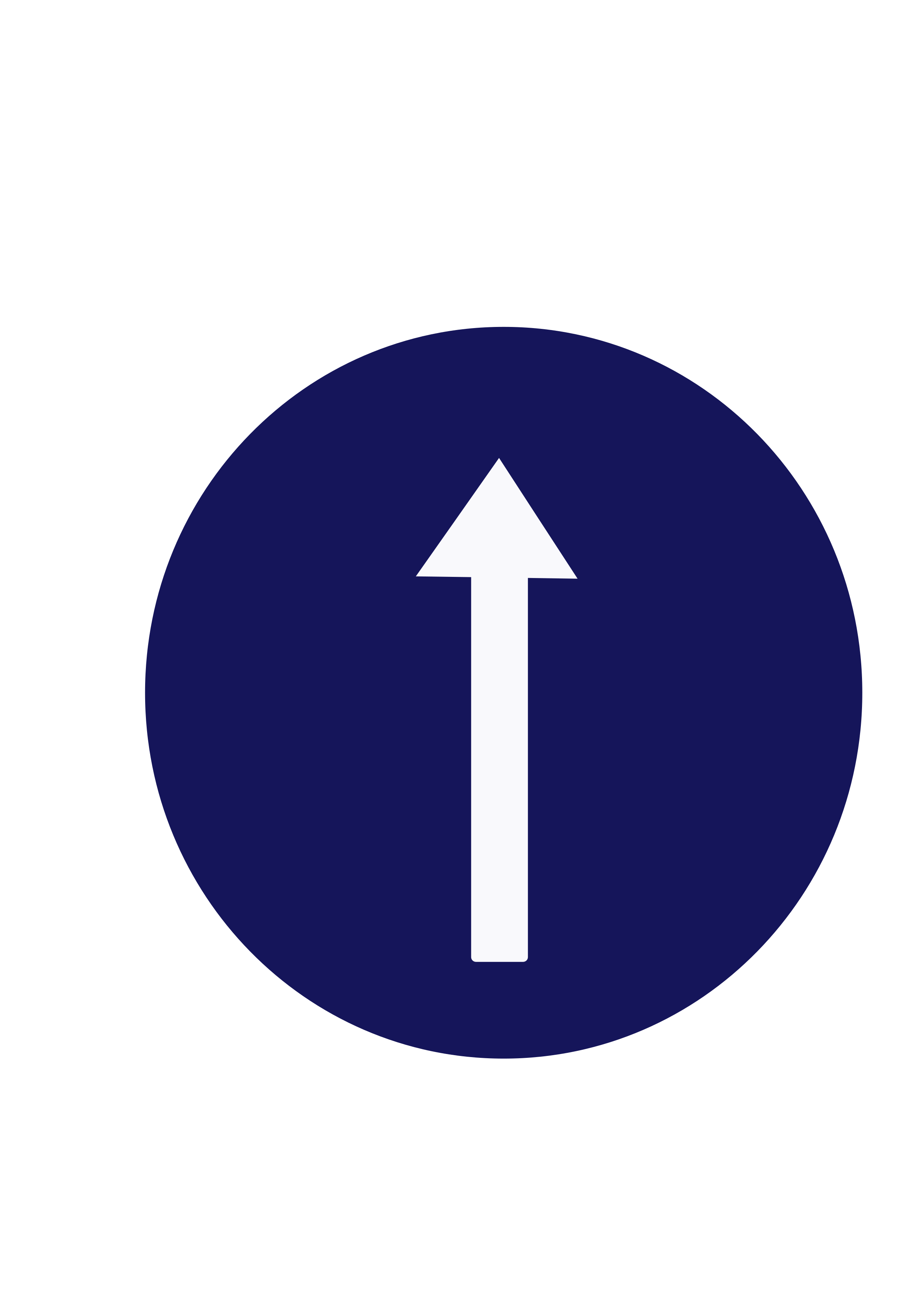 Indian sign compulsory ahead. Circle clipart road
