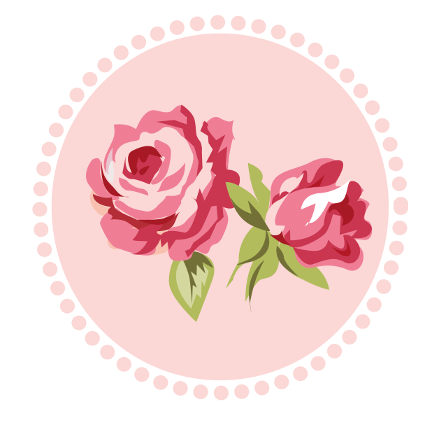 Pink gray png minus. Clipart rose shabby chic