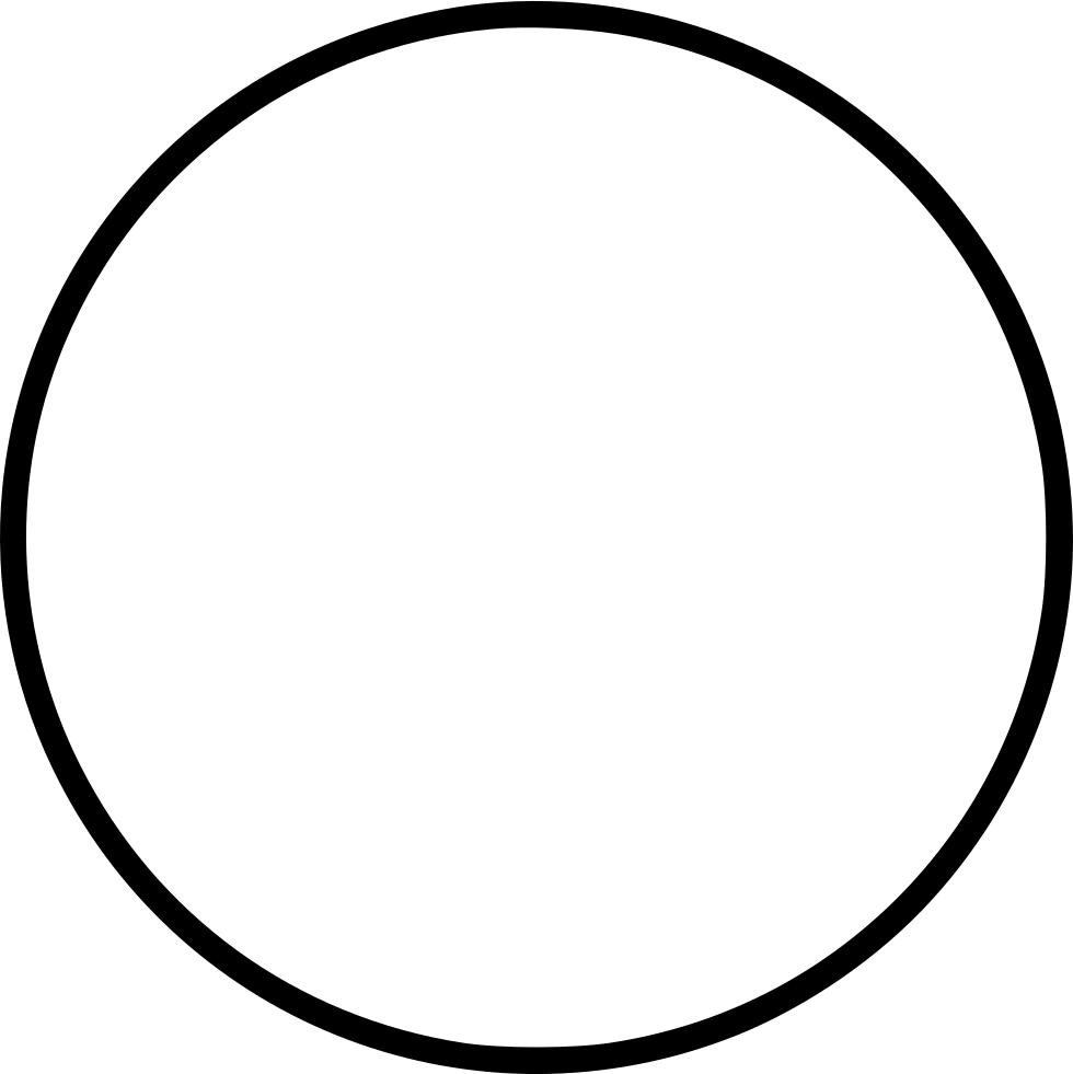 Circle Circular Circumference Girth Round Shape Svg Png Icon Free