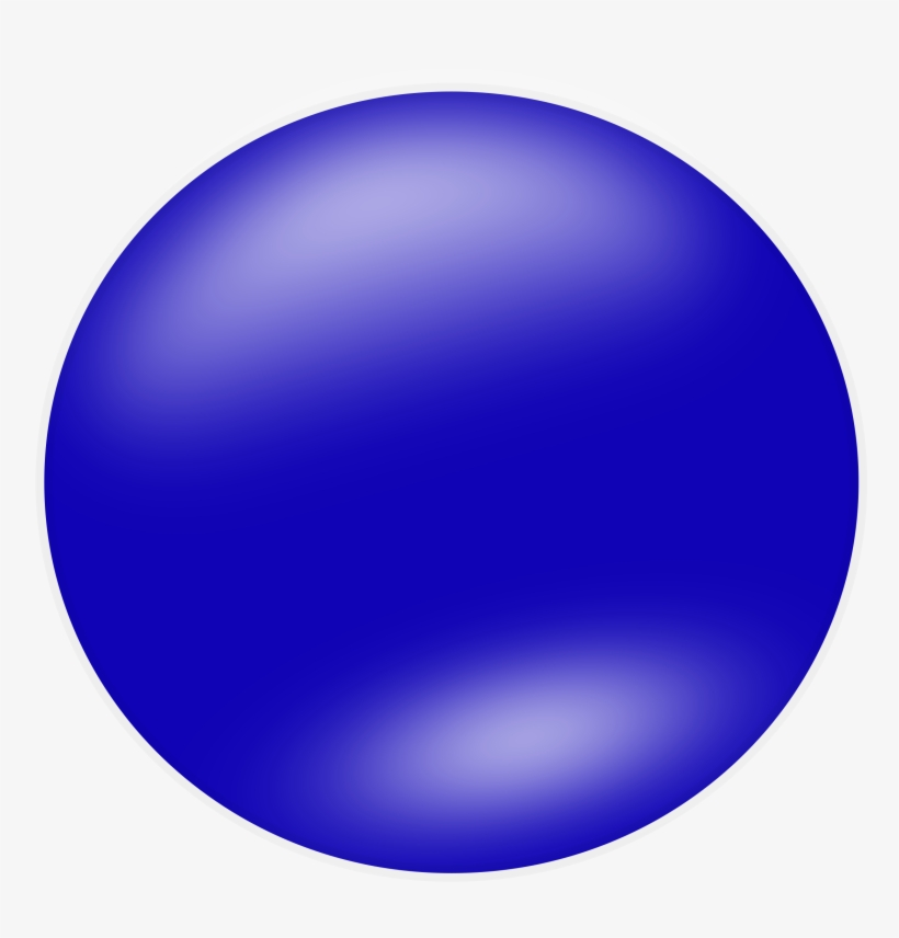 Blue png image . Circle clipart round shape