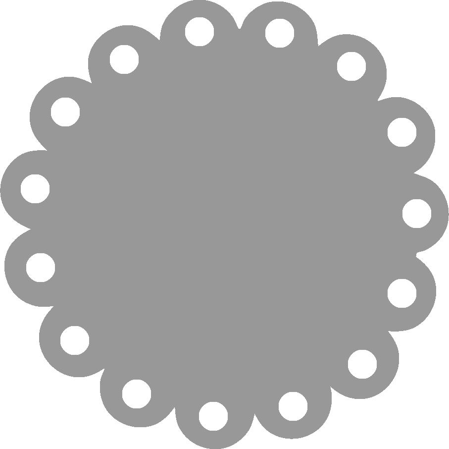 Free ruffled edge cliparts. Circle clipart ruffle