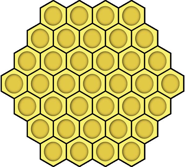 Circle clipart ruffle. Honeycomb yellow pinterest honeycombs
