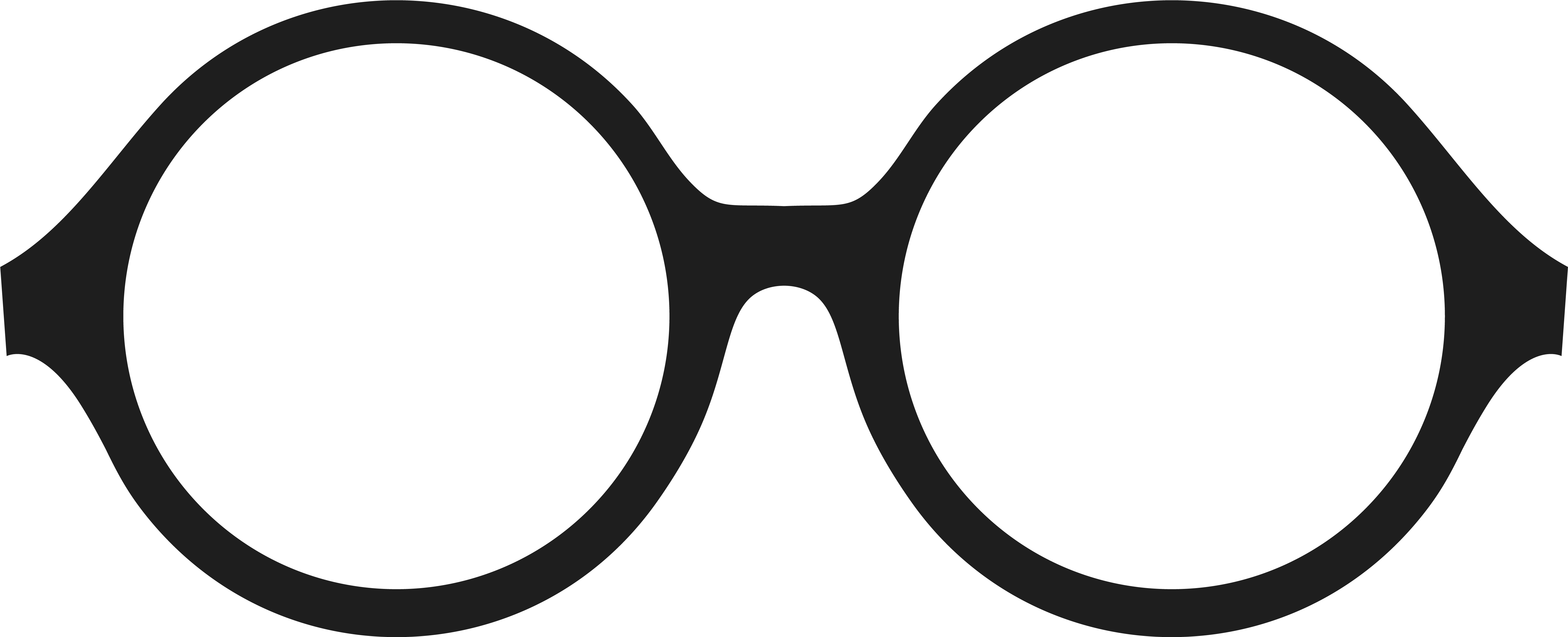 Eyeglasses clipart circle. Download free png hd