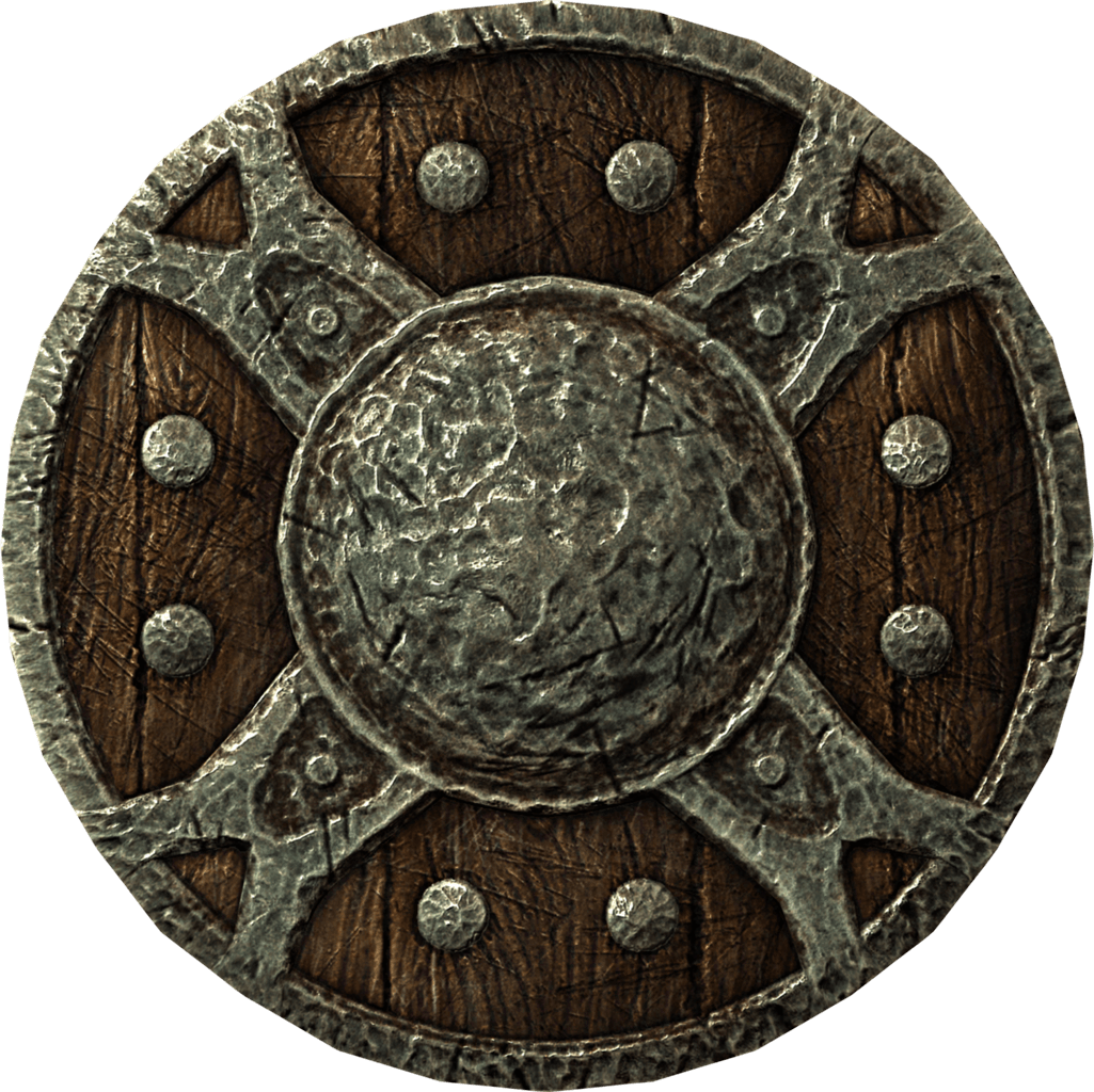Old viking transparent png. Clipart shield steel