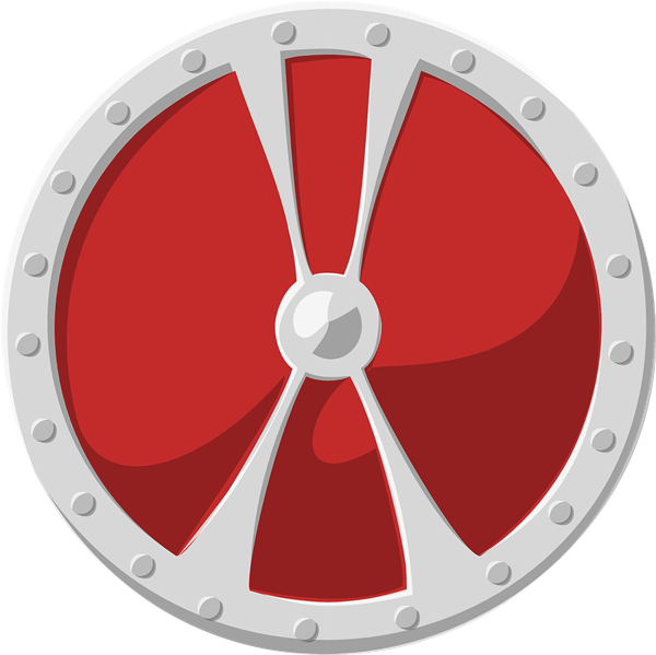 clipart shield circle