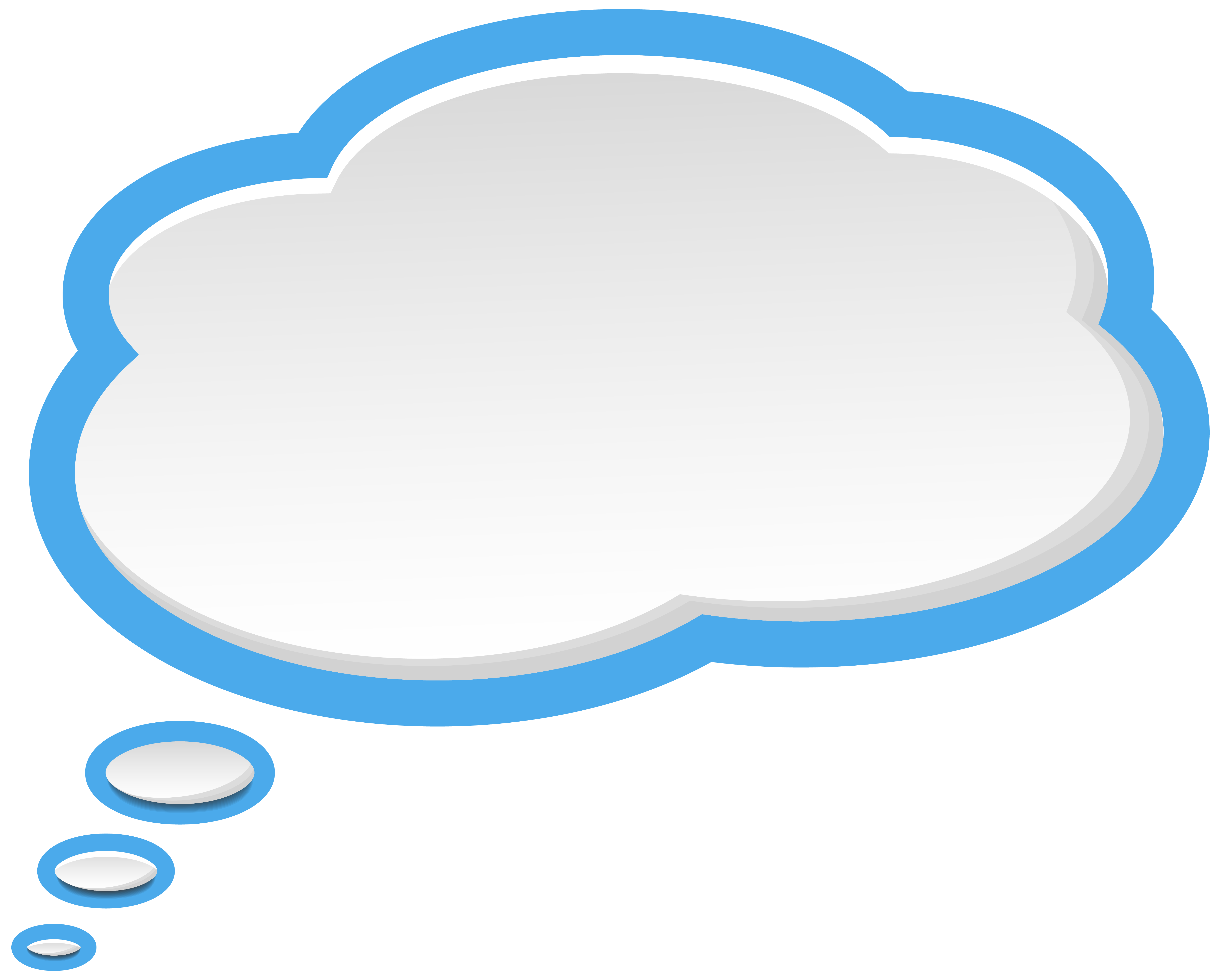 Bubble speech blue white. Water clipart sky