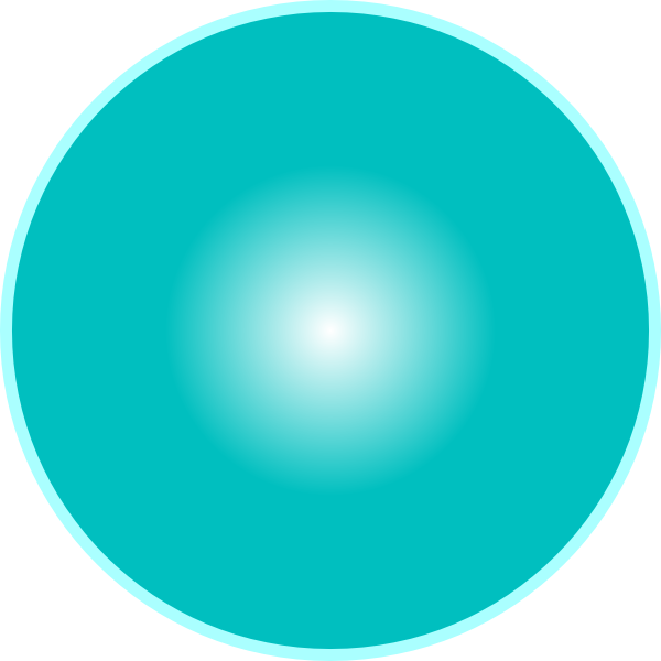 Circle clipart sky blue.  d ball clip