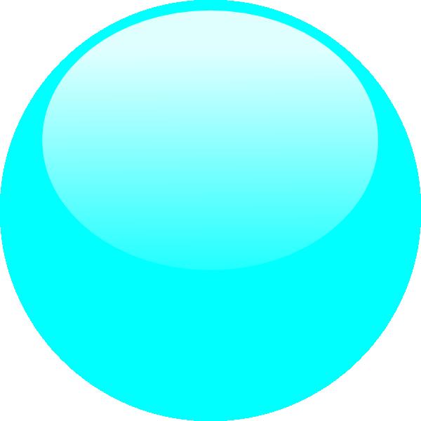 Bubble Sky Blue Clip Art at Clker