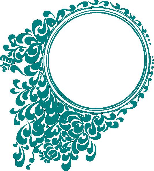 Circle clip art at. Clipart wave swirl