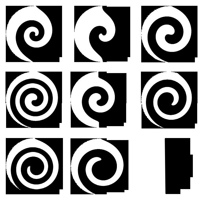 design swirls by. Circle clipart swirl