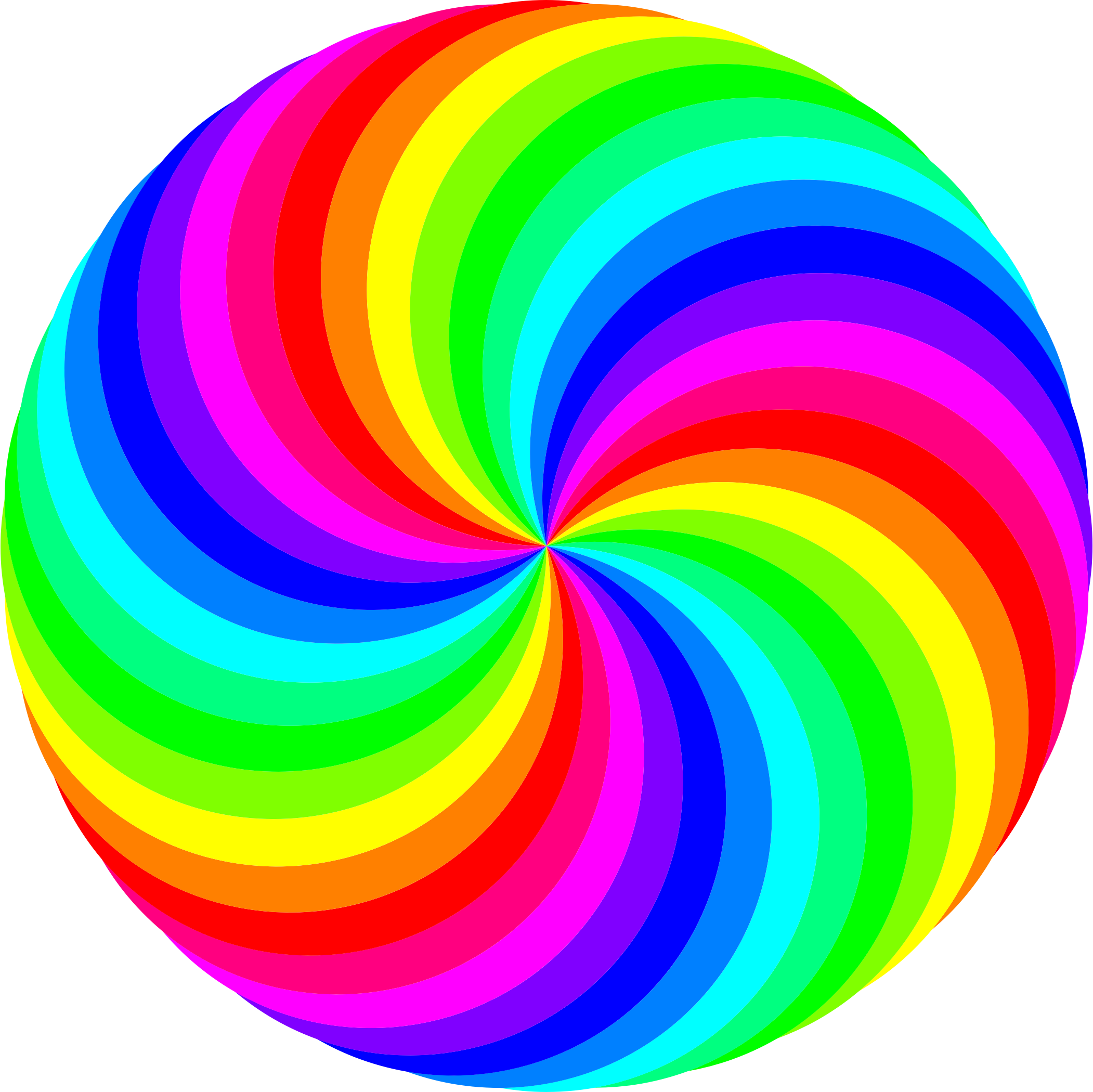 swirl color by. Circle clipart tie dye