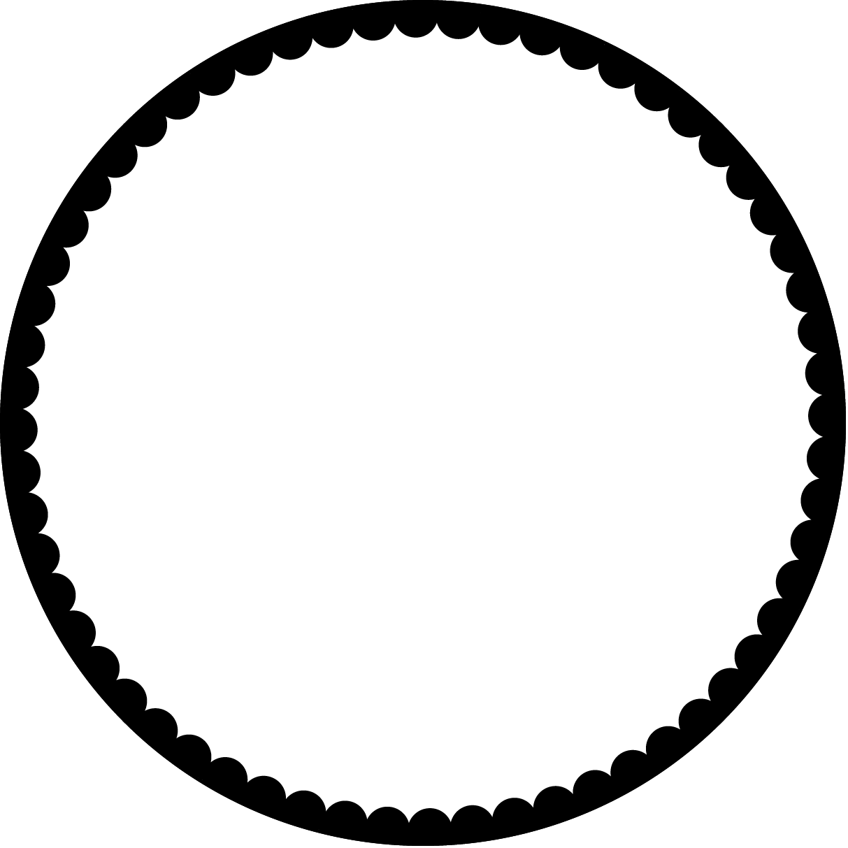 Circle clipart transparent background. Youtube clip art edges