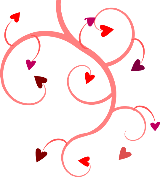 Circle clipart vine. Heart