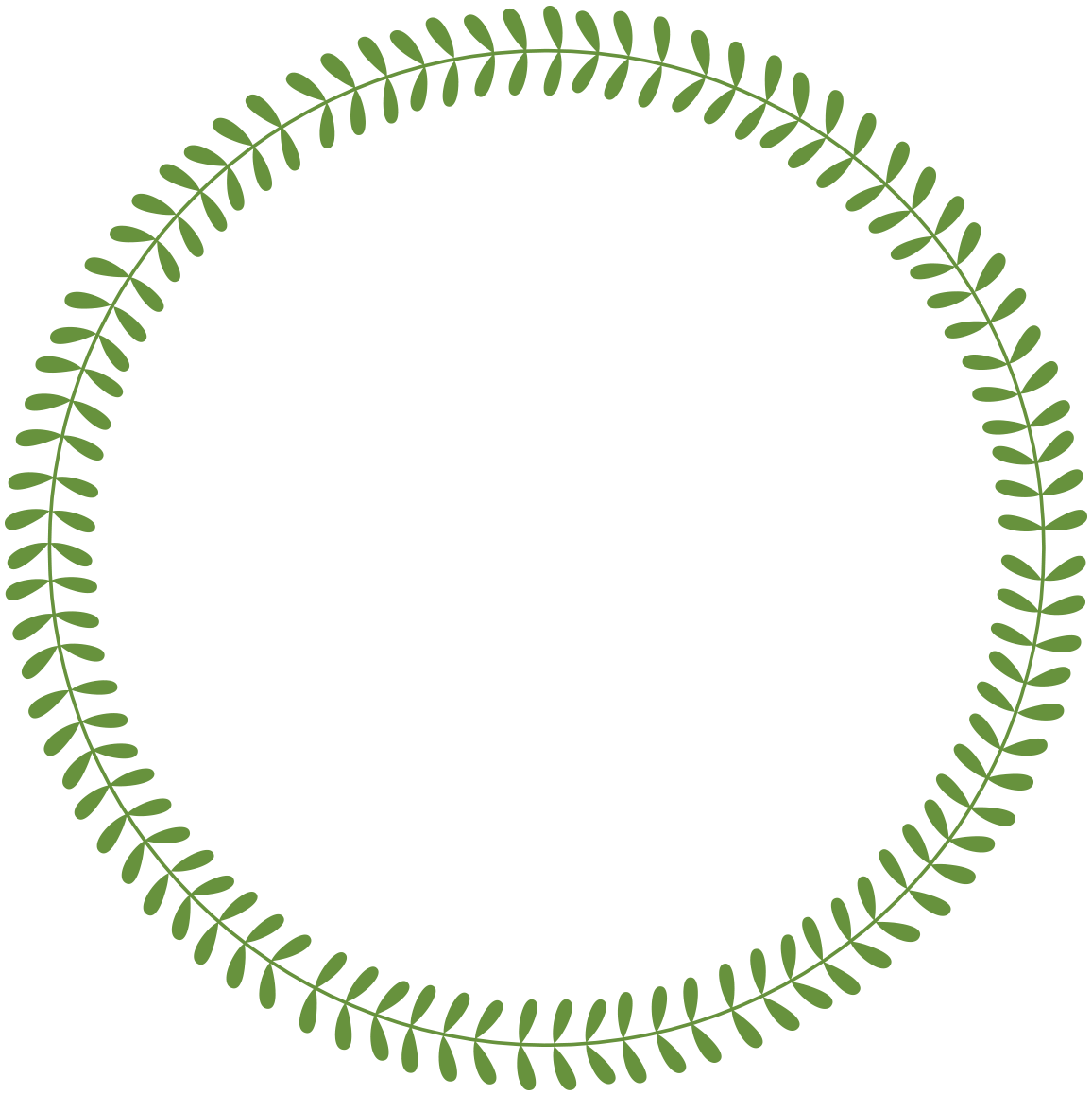 Circle clipart vine. Free laurel frames arrows