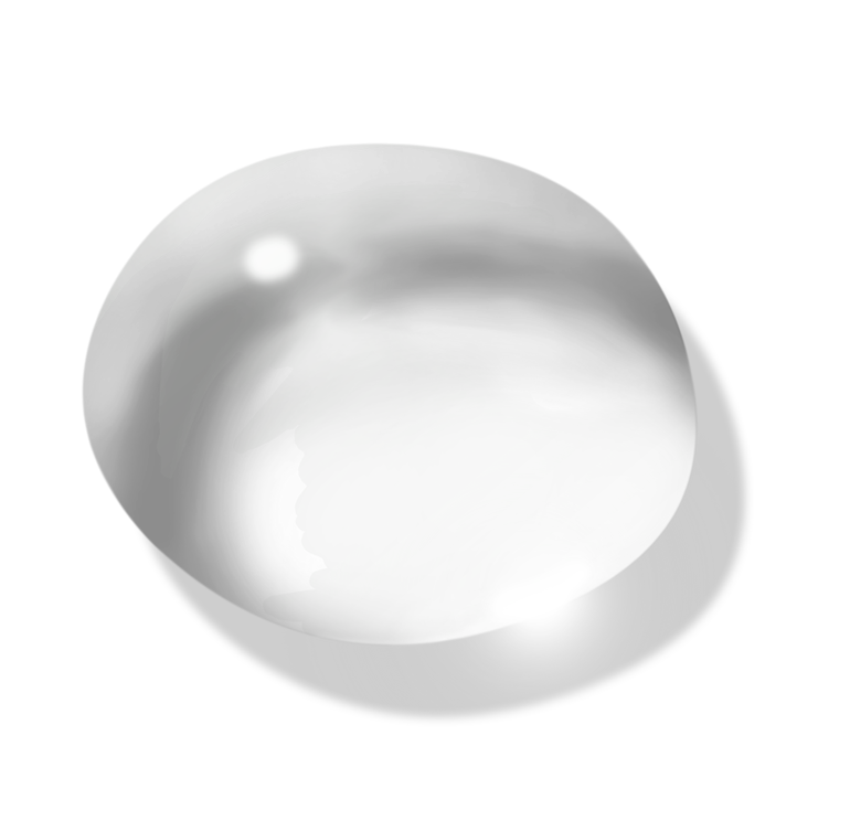 Transparent drop png picture. Water clipart circle