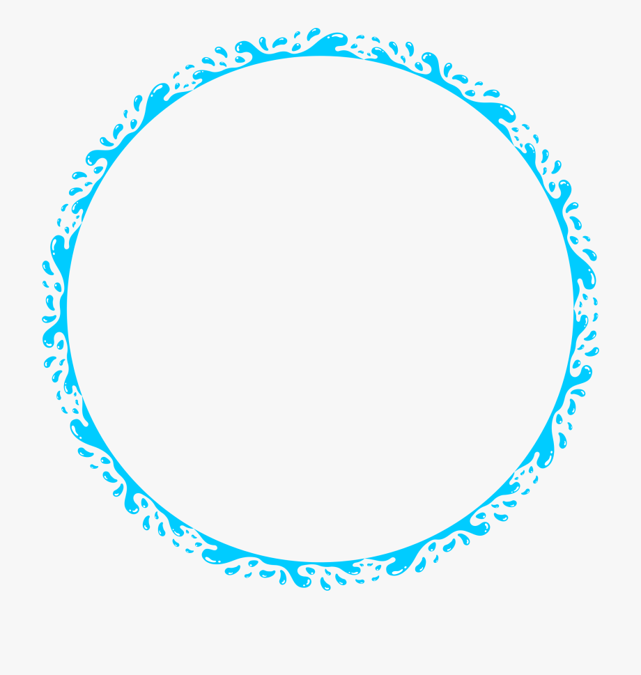 Clip library download splash. Water clipart circle