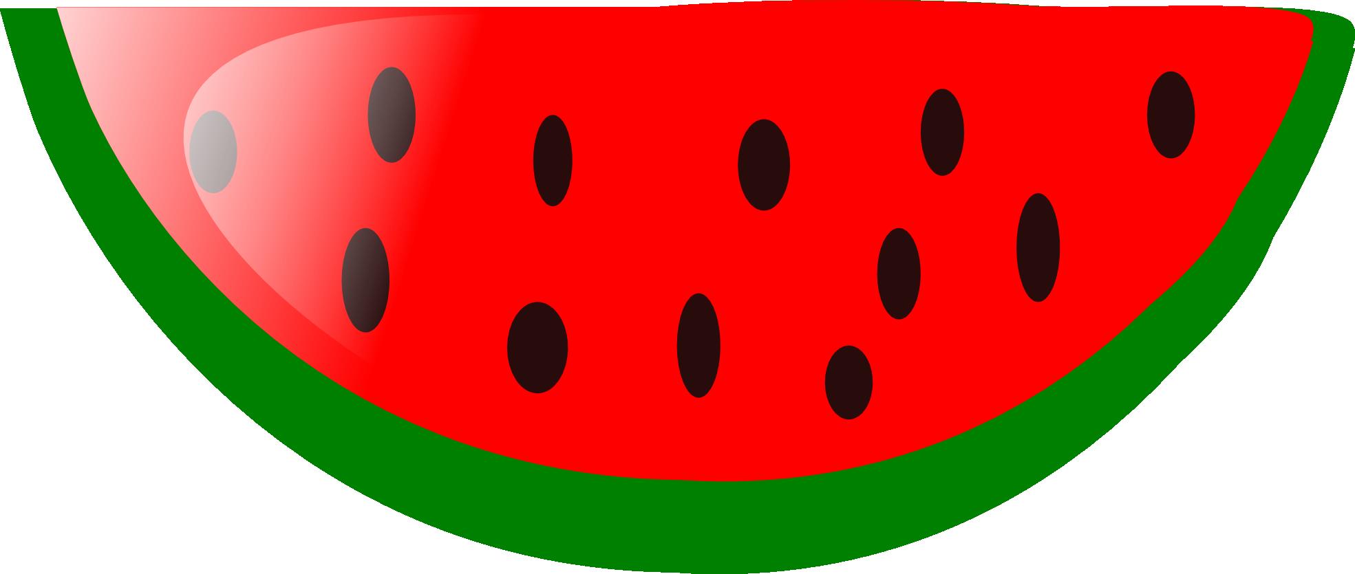 Watermelon clipart small watermelon. Seedless slice