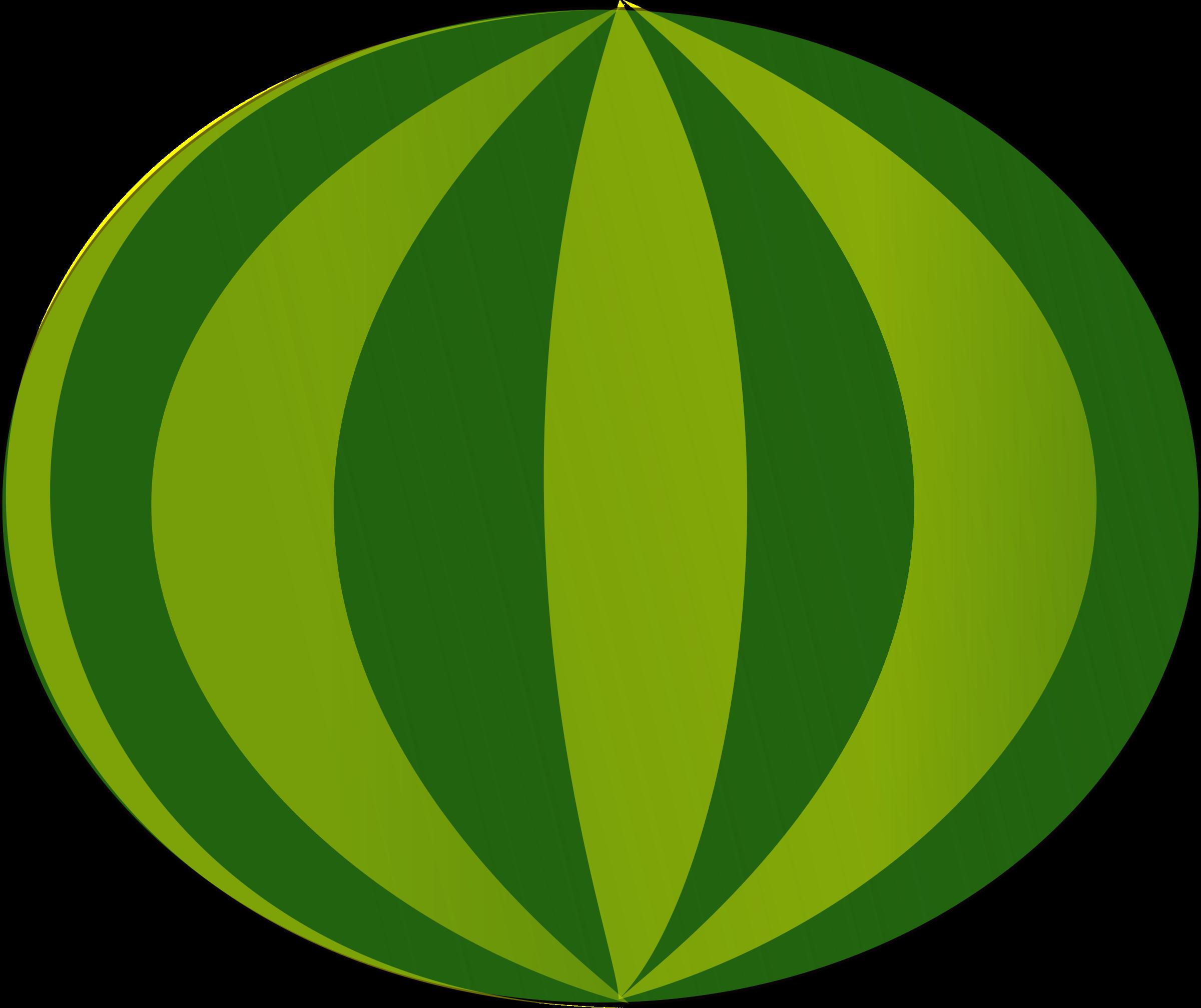 Circle clipart watermelon. Big image png