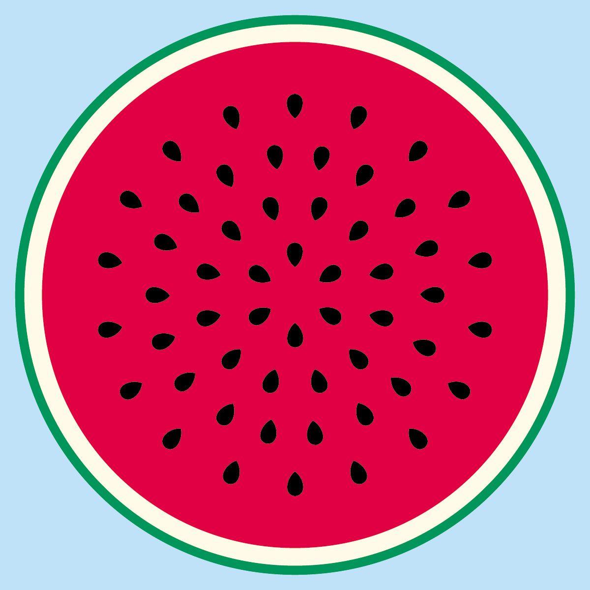 Watermelon clipart circle. Illust google wathermelon