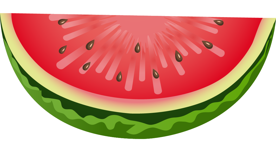 This nicely done slice. Heart clipart watermelon