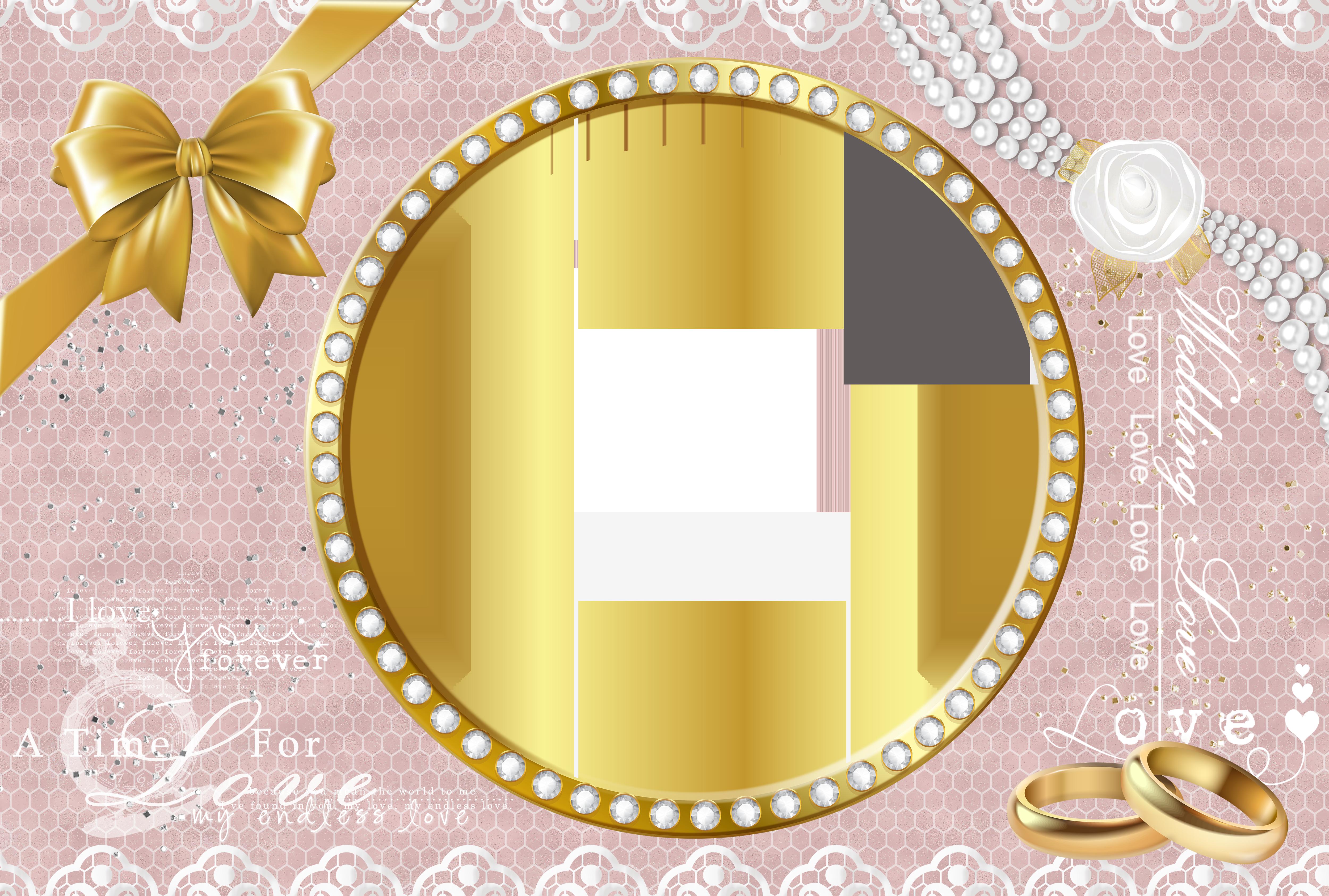 Frame transparent png image. Clipart wedding circle