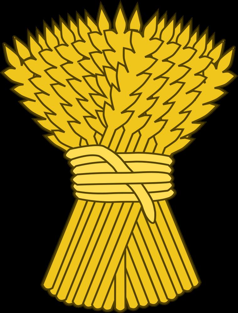 Onlinelabels clip art sheaf. Circle clipart wheat