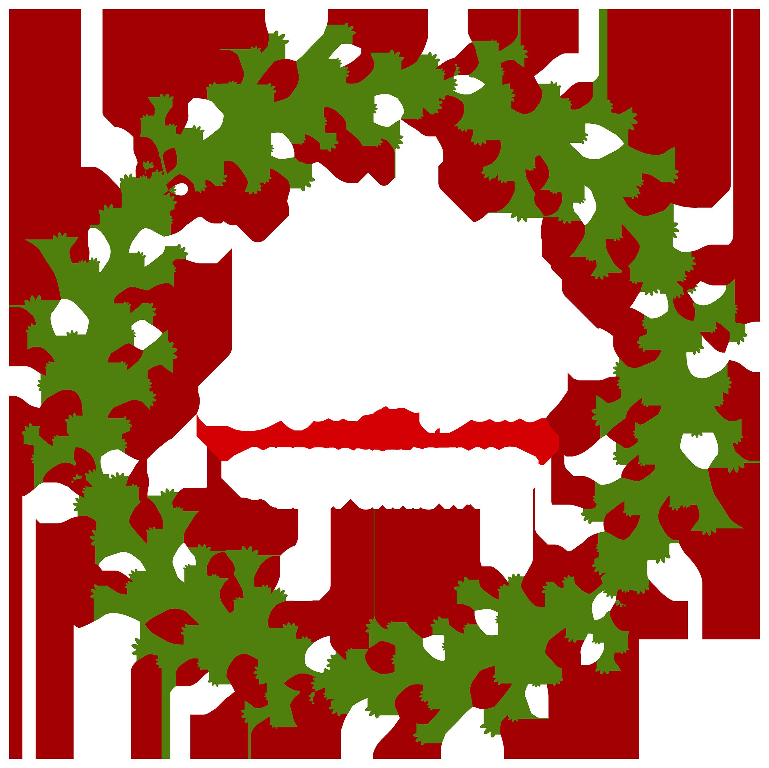 Christmas deco png best. Clipart fruit wreath
