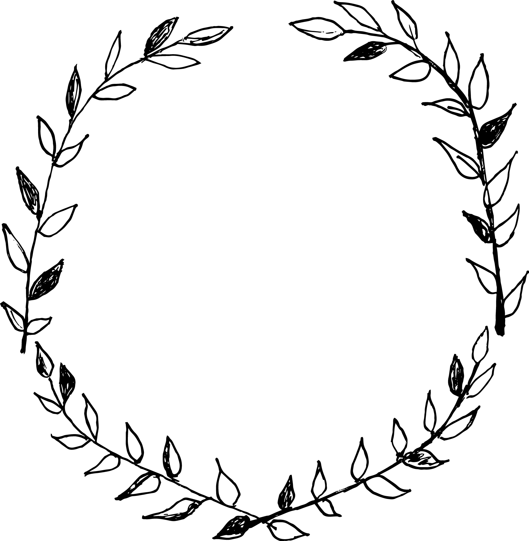 Drawing at getdrawings com. Circle clipart wreath