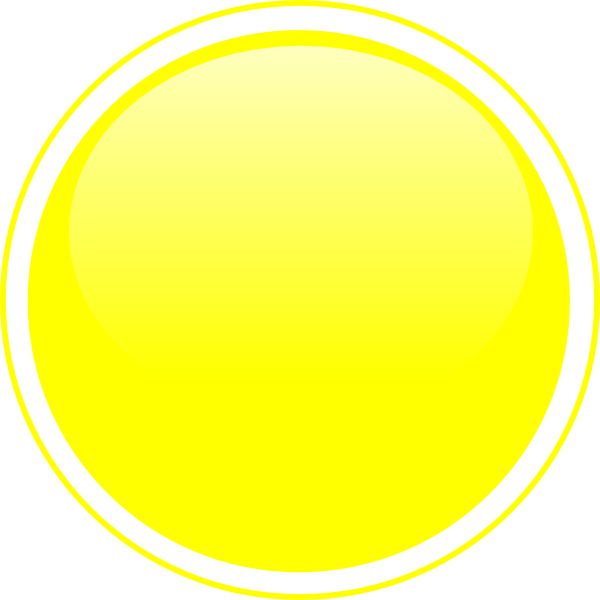 Glossy button clip art. Circle clipart yellow