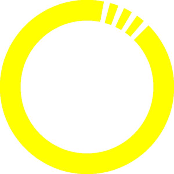 Clip art at clker. Circle clipart yellow