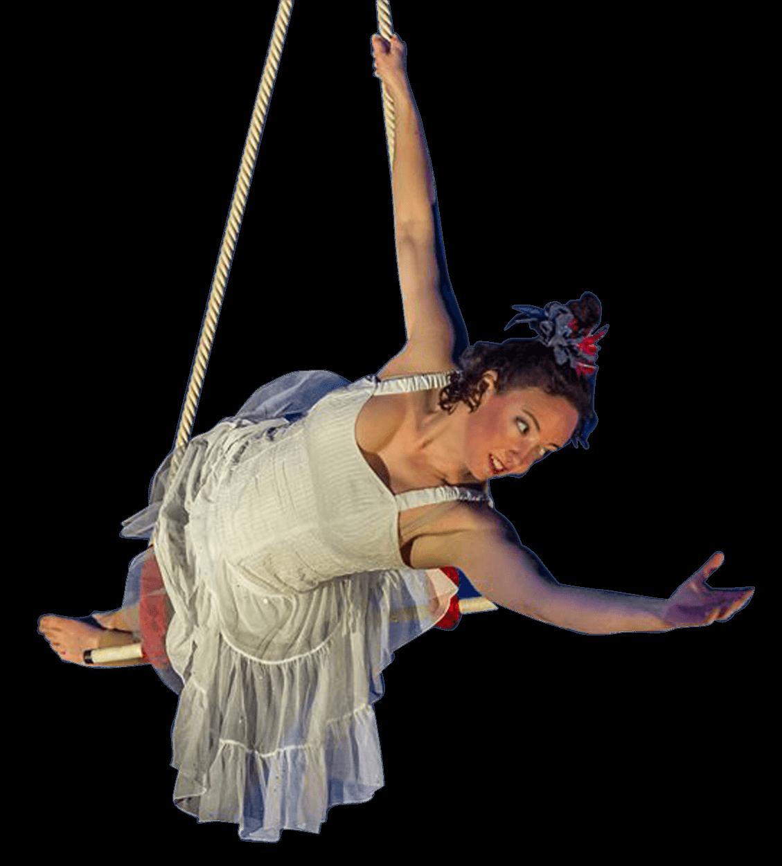 Trapeze artist transparent png. Circus clipart acrobats