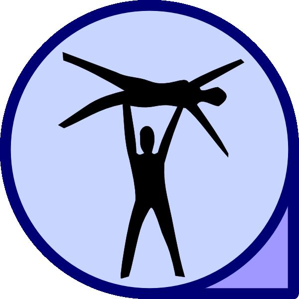 Circus clipart acrobats. Icon clip art at