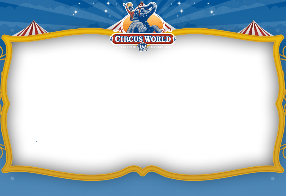 Images of banner png. Magic clipart circus