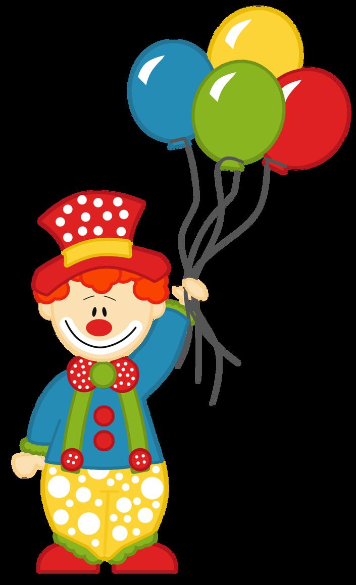 Circo palha o bolas. Clipart balloon circus